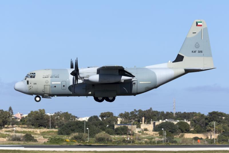 Kuwait KC-130J [Marshall Aerospace]